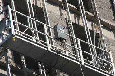 ce-godkänd zlp-serien avstängd trådplattform zlp500, zlp630, zlp800, zlp1000