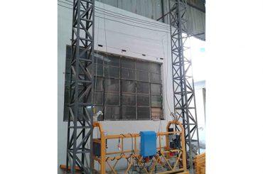 10m driven aluminiumspärrplattform zlp1000 enfas 2 * 2,2kw
