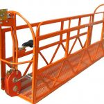 1000 kg 7,5 mx 3 sektioner aluminiumlegering upphängd arbetsplattform zlp1000