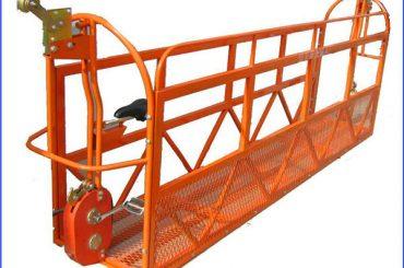 1000 kg 7,5 mx 3 sektioner Aluminiumlegerat upphängt arbetsplattform ZLP1000