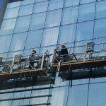100m - 300m suspenderade tillträdesplattformar 220v för höghusbyggnadsmålning
