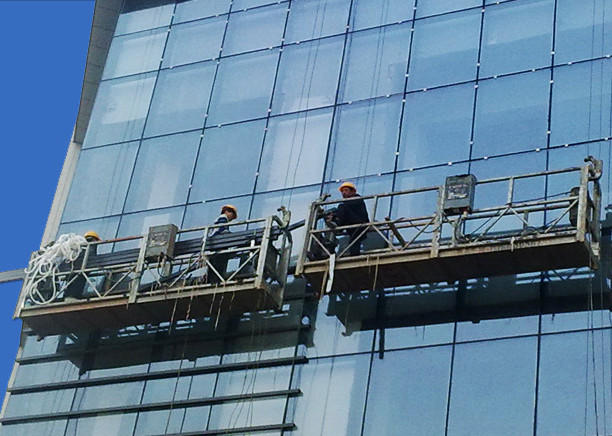100m - 300m Suspended Access Platforms 220v För High Rise Building Painting