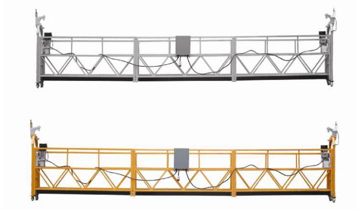 208 V / 60HZ Trefas 100m, 150m, 200m, etc. Aluminiumlegering ZLP630 Suspended Cradle