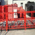 byggstädning upphängd arbetsplattform zlp800 med belastning på 800 kg