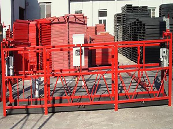 Byggrengöring Arbetsplattform Zlp800 med 800kg märkt last
