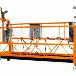 ce certifierad aluminiumavstängd arbetsplattform zlp1000 motorkraft 2.2kw