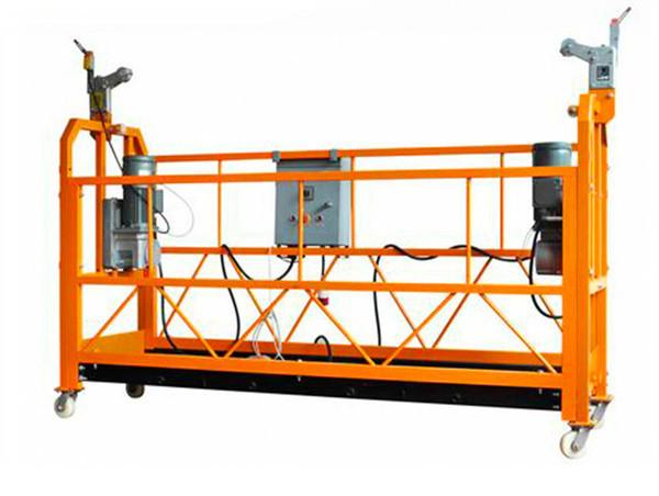 CE-certifierad aluminiumhängande arbetsplattform ZLP1000 Motorkraft 2.2kw