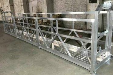 zlp800 stålupphängd arbetsplattform 380v 3 faser för rengöring av ytterväggar