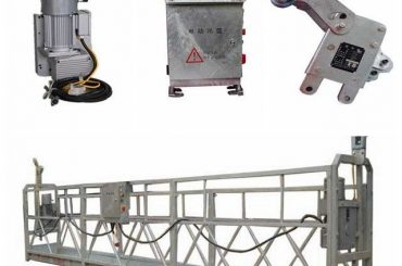 zlp800 2,5 m * 3 sektioner upphängd accessutrustning med järnvägsvikt