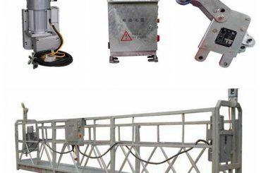 hållbar hängande arbetsplattform, formad plattform för målning av högt i tak