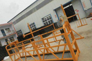 upphängning av arbetsplattformen aluminiumskonstruktion med lågt pris