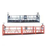 10m stål / aluminiumavstängd åtkomstutrustning zlp1000 för 3 personers arbete