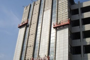 7,5 m aluminiumspärrplattform 2 x 1,8 kw kraftstabil prestanda