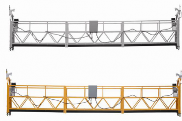 Hot sales Aluminium legering upphängd plattform / suspenderad gondol / suspenderad vagga / upphängd svängstadiet med blankett E