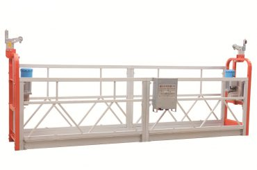 zlp630 målad stålfasadrengöringsplattform