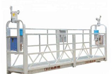 10m 800kg suspenderad byggnadsställning aluminiumlegering med lyfthöjd 300 m