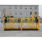 tillfälligt installerat avstängt åtkomstutrustning / gondol / vagga / ställning zlp500