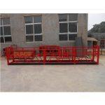 höghus bygga starka upphängda arbetsplattformar zlp500 2m * 2 1.5kw 6.3kn