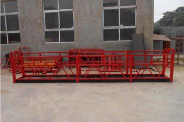 Manuell elektrisk lyft-korg-for-byggprojekt