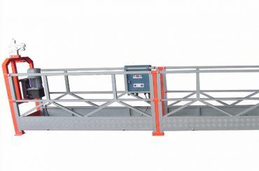 1000 kg 2,5 m * 3 sektioner upphängd accessutrustning zlp1000 med 30kn säkerhetslås