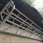 zlp630 / 800 ll form aluminiumlegering, stålkonstruktion upphängd arbetsplattform hiss på byggnadsfönster