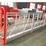 2 sektioner 500kg upphängd arbetsplattform med 3 typer motvikt