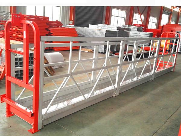 2 sektioner 500 kg upphängd arbetsplattform med 3 typer av vikt