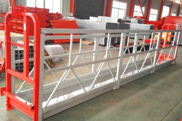 aluminiumlegering upphängda ställningssystem 1000 kg 2,2 kw för fönsterrengöring