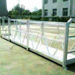stål / aluminium-upphängda arbetsplattformar med Säkerhetslås