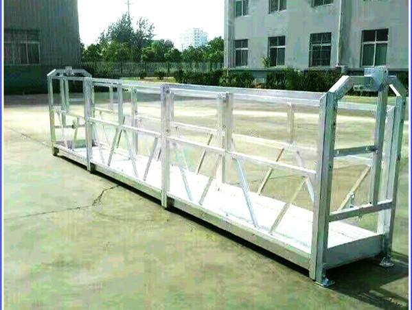 Arbetsplattformar av stål / aluminium med SAL-säkerhetslås