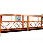 2,5mx 3 sektioner 1000kg upphängd tillträdesplattform lyfthastighet 8-10 m / min