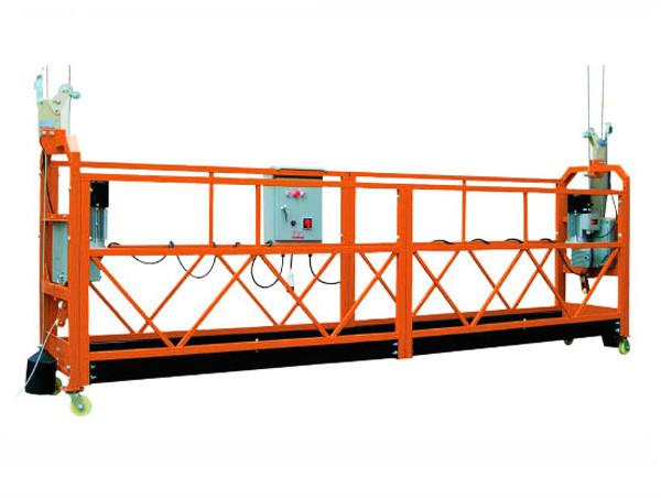 2,5M x 3 sektioner 1000kg Suspended Access Platform Lyfthastighet 8-10 m / min