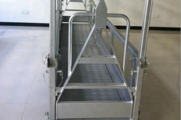upphängd stålplattform / upphängd stålplattform