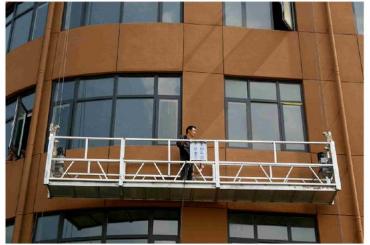 zlp630 fönsterrengöringsduk upphängd plattform