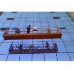 kraftig konstruktion rep upphängd plattform med 30kn säkerhetslås zlp1000 2.2kw 2.5m * 3