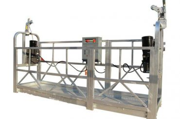 ce / iso-godkänd zlp elektrisk konstruktion / byggnad / yttre vägg upphängd plattform / vagga / gondol / svängstadium / himmelklimbe