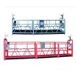 zlp 630 repavstängt plattformsantenns arbete svängstegs byggnadsställning med plastspraymålad
