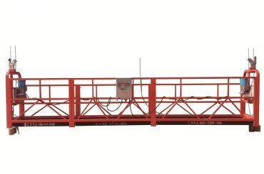 stål / varmförzinkad tillfällig upphängd plattform, zlp500 underhålls vagga