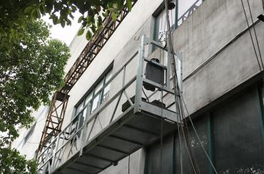 zlp1000 2.5m * 3 2.2kw 8kn suspenderade access vaggar med elektrisk styrsystem