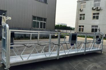 justerbar aluminiumsläge rep upphängd plattform zlp 800 för renovering / målning