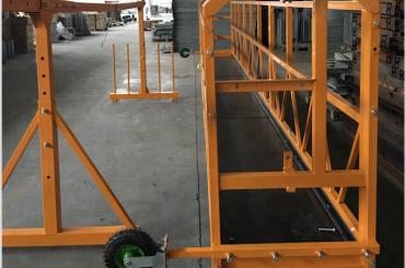 fönsterrengöring upphängd arbetsplattformsäkerhet zlp 630 med hiss ltd6.3