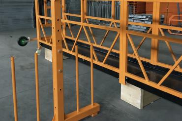 enfasavstängt stålplattform 800 kg 1,8 kw, lyfthastighet 8 -10 m / min