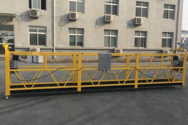 målat aluminiumavstängt ståltrådplattform 500kg / 630kg / 800kg / 1000kg