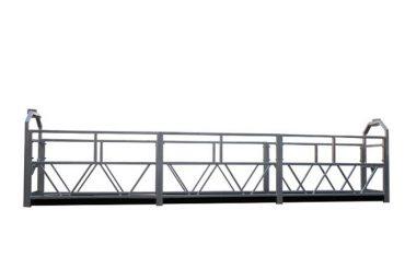 2 x 1,8 kw suspenderad byggnadsplattform med enkelfaserad plattform zlp800