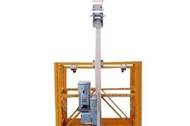 250kg enmanshängande arbetsplattform l strirup med ltd6.3 hiss