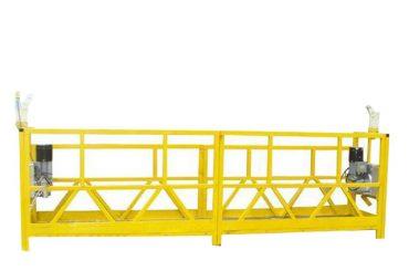 zlp 630 tillfälligt installerad upphängd arbetsplattform med nominell kapacitet 630kg