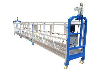 500 kg 2 m * 2 sektioner av aluminiumlegering, upphängd accessutrustning zlp500