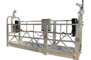 aluminiumlegering upphängd arbetsplattform / gondol / ställning zlp 630