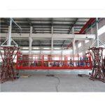 2 * 2,2 kw upphängd accessplattformar zlp1000 lyfthastighet 8 - 10 m / min