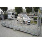 2,5mx 3 sektioner byggnadsarbetsplattformar 800kg aluminium med säkerhetslås 30kn